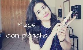 Rizos con plancha| voluminous hair