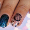 Dream Catcher Nail Design