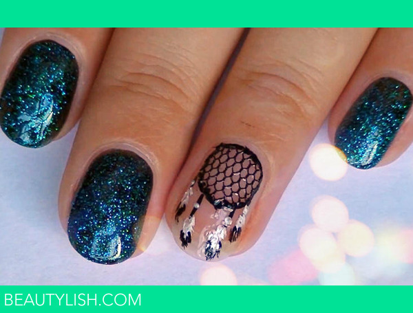 Dream Catcher Nail Design Elena S S Elenasandina