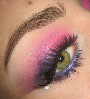 Tutorial for this look right here : http://www.youtube.com/watch?v=53S2wHXMWWI