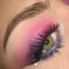 Dramatic Pink & Purple Summer make-up
