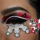"""Harley Quinn """"Harley Quinzel"""" Inspired makeup"""