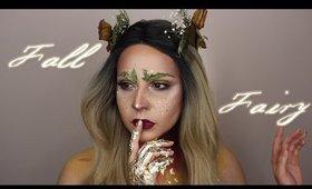 Fall Fairy Makeup look    Collab with Julia Salvia
