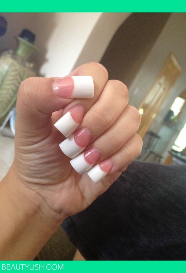 Pink And White Nails Natalia D S Photo Beautylish