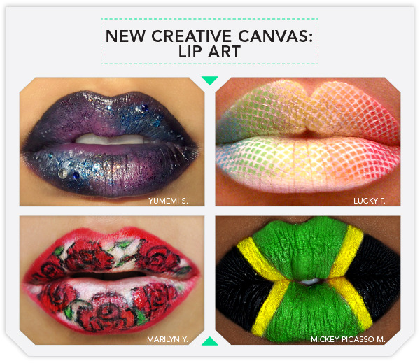 The New Creative Canvas Lip Art Beautylish