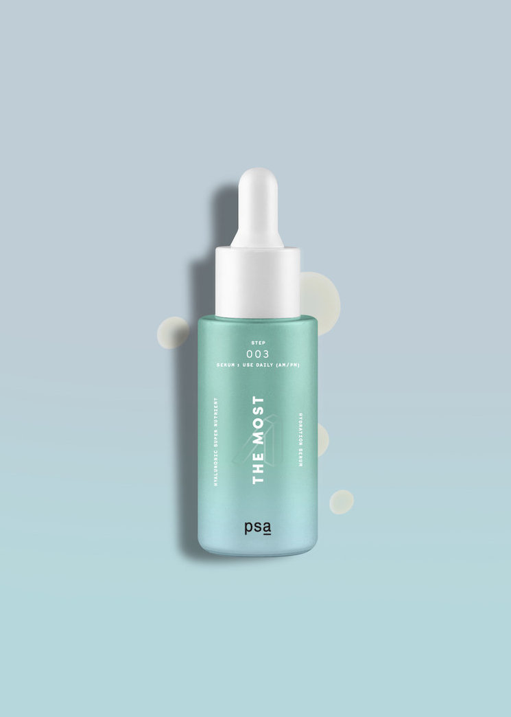Alternate product image for The Most: Hyaluronic Nutrient Hydration Serum shown with the description.