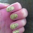 Gold Glitter for $7