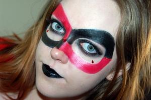 Super Villain Series: Harley Quinn. Tutorial for this look here: http://www.youtube.com/watch?v=c7TT6VsxItA