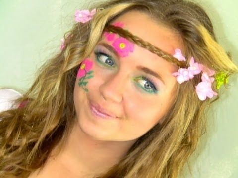 Hippie Hair & Makeup Tutorial in under 2 minutes! I ... |Hippies Short Hair And Makeup