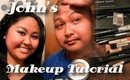 John's Makeup Tutorial ~ Funny Footage & Bloopers!