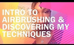 How I Got Into Airbrush Makeup | Ivory Perkins
