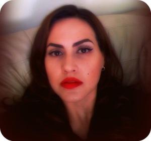 Pinup makeup look
