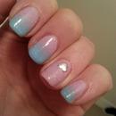 Very girly nails o.O