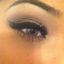 My take on thick eyeliner :)
