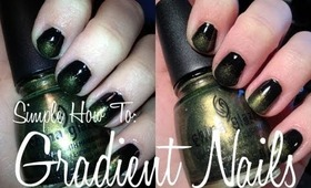 How To :: Gradient Nails