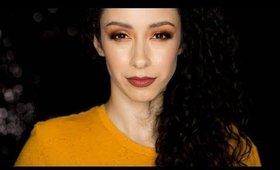Warm Fall Makeup Tutorial ft Tartelette Toasted Eyeshadow Palette