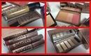 Naked No Makeup: UD Naked Flushed, Basics Palette, Gloss, BB, Foundation & Powder