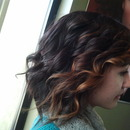 Front ombre