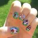 Gnome Nail Art