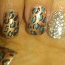 leopard. and swarovski