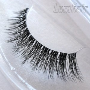3d mink eyelashes,synthetic fiber eyelashes,synthetic long eyelashes made from Chinese professional manufacturer--LumHair