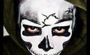 Skeleton makeup look for HALLOWEEN