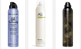Zero Grease, All Volume: 3 New Dry-Hair Sprays We Love