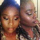 Thanksgiving Makeup by Bran!!!