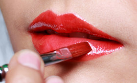 Forget Blotting—Learn the Real Trick to Red Lipstick That Stays Put!