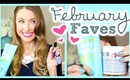 FEBRUARY FAVES!! || Makeup, Books, Clothing & MORE