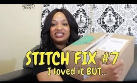 Stitch Fix #7 | May 2018 | Unboxing & Try-On