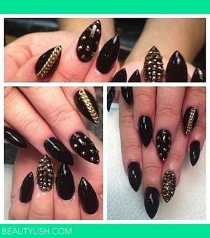 beautiful!!! I am thinking about getting my nails done like this tomorrow!