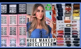 💕 HUGE DECLUTTER & ORGANISATION - blush & false lashes! 💕