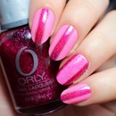 "Valentine's ""Racing Stripes"" Nail Art"