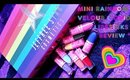 Jeffree Star Cosmetics Mini Rainbow Equality Velour Liquid Lipsticks Review