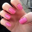 Barbie pink.