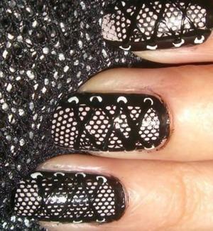 Kool nails that look like sneakers