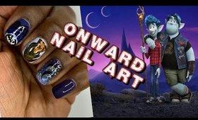 Onward Movie Nail Art