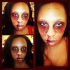 Bloody Face Makeup By Me