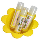 Batty's Bath Honey Bee Mine Lip Balm with Sweet Almond Oil