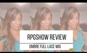 RPGSHOW Lovetaije001 Balayage Full Lace Wig Review