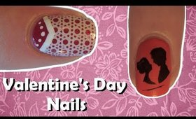 Nail Art for Valentine's Day Guide ♥ BPS Review ♥ 2 Easy Valentine's Day Nail Designs