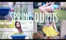 Spring outfit ideas: playsuit, ombre shorts and brightly colored skorts! + GIVEAWAY!