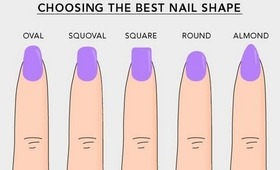 Learn Different Nail Shapes by Dearnatural62 on YouTube