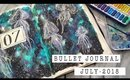 Creative Journaling | Bullet Journal Set-Up | JULY 2018 | ANN LE