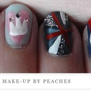Diamond Jubilee nail looks