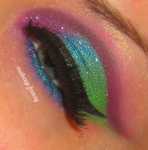 Inspired by BrittCouture www.facebook.com/makeupfrenzy