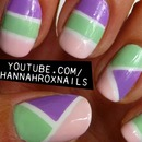 Spring Colorblock Nails