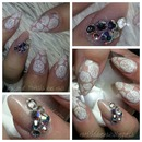 my anniversary nails :)