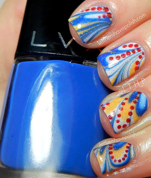 For details: http://www.letthemhavepolish.com/2013/04/lvx-watermarble-for-autism-awareness.html